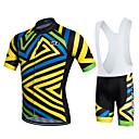cheap Cycling Jerseys-Fastcute Cycling Jersey with Bib Shorts Men's Women's Kid's Unisex Short Sleeves Bike Bib Shorts Sweatshirt Jersey Bib Tights Clothing