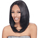 cheap Human Hair Wigs-Human Hair Lace Front Wig Straight Wig 130% Natural Hairline / African American Wig / 100% Hand Tied Women's Medium Length / Long Human Hair Lace Wig