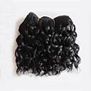 abordables Extensiones de Color Degradé-1 paquete Cabello Brasileño Rizado / Ondulado Medio Cabello Virgen Tejidos Humanos Cabello Cabello humano teje Extensiones de cabello humano