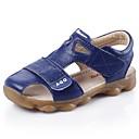 halpa Poikien kengät-Poikien Kengät Nahka Kesä Sandaalit Kävely Tarranauhalla varten Keltainen / Sininen