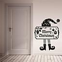 abordables Adhesivos de Pared-Navidad / Día Festivo Pegatinas de pared Calcomanías de Aviones para Pared Calcomanías Decorativas de Pared,PVC Material Removible