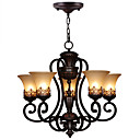 cheap Chandeliers-Ecolight™ 5-Light Chandelier Ambient Light - Candle Style, 110-120V / 220-240V Bulb Not Included / 10-15㎡ / E26 / E27