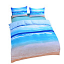 cheap Duvet Covers-Duvet Cover Sets 3D Poly / Cotton Reactive Print 3 Piece