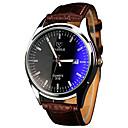preiswerte Hundekleidung-YAZOLE Herrn Armbanduhr Armbanduhren für den Alltag / Cool / / PU Band Freizeit Braun