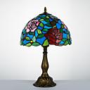preiswerte Tischlampe-Tiffany Traditionell-Klassisch Bogen Schreibtischlampe Für Harz 110-120V 220-240V