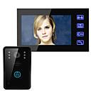 billige Digitale diktafoner-Ennio 7 video dørtelefon intercom-system doorbell touch-knap fjernbetjening låse nattesyn sikkerhed CCTV kamera