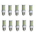 preiswerte LED Glühbirnen-10 Stück 10 W 850-950 lm E14 / G9 / GU10 LED Mais-Birnen Röhre 69 LED-Perlen SMD 5730 Wasserfest / Dekorativ Warmes Weiß / Kühles Weiß