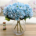 billige Bryllupsbånd-Kunstige blomster 1 Gren Moderne Stil Hortensiaer Bordblomst