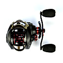 cheap Fishing Reels-Baitcasting Reel 7.0:1 Gear Ratio+14 Ball Bearings Left-handed Sea Fishing - OXLEFT