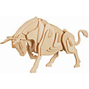 cheap Models & Model Kits-Wooden Puzzle Bull Professional Level Wooden 1pcs Kid's Boys' Gift