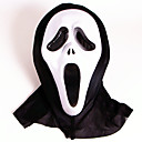 cheap Masks-Halloween Mask Ghost Scary Scream Horror Plastic PVC 1pcs Pieces Adults' Gift