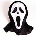 billige Høytidsmasker-Haloween-masker Scream-maske Horrortema Plast PVC 1pcs Deler Voksne Gave