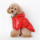 ieftine Îmbrăcăminte Câini-Câine Haine Hanorace cu Glugă Îmbrăcăminte Câini Mată Negru Cafea Rosu Albastru Bumbac Costume Pentru animale de companie Bărbați Pentru