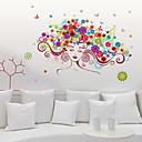 ieftine Acțibilde de Perete-Autocolante de Perete Decorative - Autocolante perete plane Oameni / Modă / Florale Sufragerie / Dormitor / Cameră de Fete / Detașabil