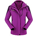 cheap Footwear & Accessories-Women's Hiking Softshell Jacket Outdoor Waterproof Thermal / Warm Windproof Wearable Breathable Softshell Jacket Top Camping / Hiking