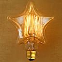 preiswerte LED Doppelsteckerlichter-edison gelbes licht dekoration retro wolfram lampe lichtquelle (e27 40 watt)