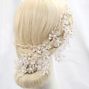 preiswerte Parykopfbedeckungen-Krystall / Künstliche Perle / Aleación Blumen mit 1 Hochzeit / Besondere Anlässe / Draussen Kopfschmuck