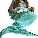 baratos Conforto para Viagens-Cobertor de Viagem Manter Quente Descanso em Viagens Lavável para Acrílico Sólido Feminino