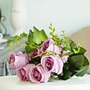 olcso Művirág-Művirágok 1 Ág Európai stílus Rózsák Asztali virág