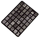 cheap Nail Stamping-best deal good quality nail stamping printing plate manicure nail art decor image stamps plate