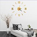 baratos Mangueiras de LED-Moderno/Contemporâneo Escritório/Negócio Casas Família Escola/Graduação Amigos Relógio de parede,Inovador Acrilico Vido 40 Interior