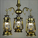 billige LED lyspærer-3-Light Vedhæng Lys Ned Lys - LED, 110-120V / 220-240V Pære Inkluderet / 10-15㎡ / E26 / E27