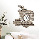 cheap Wall Stickers-Modern / Contemporary High Quality Paper Indoor,AA Wall Clock