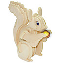 cheap 3D Puzzles-Wooden Puzzle Squirrel Professional Level Wooden 1pcs Kid's Boys' Gift