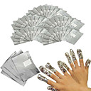 billige Neglebørster-100pcs Nail Art Tool Nail Art Kit Cotton Pad Negle kunst Manicure Pedicure Normal / Klassisk / Chic & Moderne Daglig
