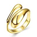 preiswerte Headsets und Kopfhörer-Damen Geometrisch Ring - Roségold, Kupfer, versilbert 6 / 7 / 8 Silber / Rose / Golden Für Hochzeit Party Alltag / vergoldet / Rose Gold überzogen / vergoldet / Rose Gold überzogen