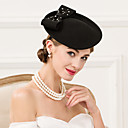 cheap Rings-Wool / Rhinestone Hats with 1 Wedding / Special Occasion / Casual Headpiece