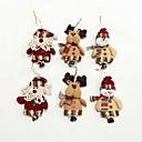 olcso Karácsonyi dekoráció-6db kiváló minőségű karácsonyi díszek kis harang