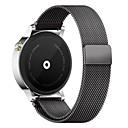 billige Smartklokke Tilbehør-Klokkerem til Gear S3 Frontier Samsung Galaxy Milanesisk rem Metall / Rustfritt stål Håndleddsrem