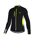 cheap Cycling Jackets-SANTIC Men's Cycling Jacket Bike Jersey Insulated, Breathable Patchwork Bike Wear / Advanced Sewing Techniques