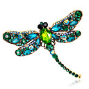cheap Brooches-Women's Brooches - Crystal Ladies, Fashion Brooch Jewelry Red / Green / Blue For Wedding / Party / Daily / Casual