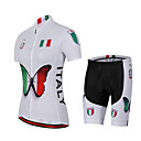 cheap Cycling Jerseys-Women's Short Sleeve Cycling Jersey with Shorts Bike Shorts Jersey Breathable Quick Dry Anatomic Design Back Pocket Sweat-wicking Sports Coolmax® Mesh Elastane Fashion Clothing Apparel / Stretchy