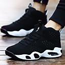 abordables Zapatillas Deportiva de Mujer-Unisex Zapatos Sintético Primavera / Verano / Otoño Zapatillas de Atletismo Tacón Plano Negro / Negro / Rojo / Negro / blanco