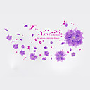 cheap Wall Stickers-Decorative Wall Stickers - Plane Wall Stickers Florals Living Room / Bedroom / Bathroom