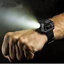 رخيصةأون ووكي توكي-للرجال ساعة المعصم رزنامه الكرونوغراف قضية القماش فرقة رقمي قديم سوار أسود - أسود