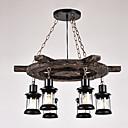 billige Brudesjaler-Vintage Land Retro Rød Anheng Lys Omgivelseslys - LED, 110-120V 220-240V Pære ikke Inkludert