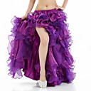 cheap Belly Dance Wear-Belly Dance Tutus & Skirts Women's Performance Spandex Split Front Sleeveless Dropped Skirt