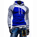 cheap Kitchen Appliances-Men's Sports Active Long Sleeve Slim Hoodie - Color Block