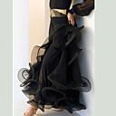 abordables Cabello Ondulado Natural-Baile de Salón Pantalones y Faldas Mujer Rendimiento Licra Recogido Cintura Baja Falda