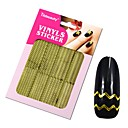 cheap Men's Accessories-1 pcs Fashion Diecut Manicure Stencil Daily