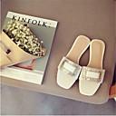 baratos Sandálias Femininas-Mulheres Sapatos Couro Ecológico Verão Conforto Sandálias Tachas Branco / Cinzento