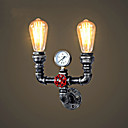 abordables Bombillas LED-CXYlight Rústico / Campestre / Vintage / Campestre Lámparas de pared Metal Luz de pared 110-120V / 220-240V Max 60W