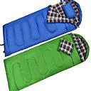 olcso Hálózsákok és felfújható matracok-Hálózsák Szabadtéri Egyszemélyes 10 °C Négyszögletes Üreges pamut Pehely Szélbiztos Vízálló Hordozható Jól szellőző Ultra könnyű (UL) Lélegzési képesség Összecsukható Lezárt Elasztikus mert Túrázás