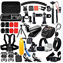 cheap Accessories For GoPro-Accessory Kit For Gopro 46 in 1 Adjustable Waterproof Dust Proof Floating For Action Camera Gopro 5 Xiaomi Camera Gopro 4 Black Gopro 4