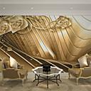 abordables Murales-Art Decó 3D Decoración hogareña Lujo Revestimiento de pared, Lona Material adhesiva requerida Mural, Revestimiento de paredes de