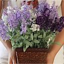 baratos Plantas Artificiais-Flores artificiais 1 Ramo Pastoril Estilo Lavanda Flor de Mesa